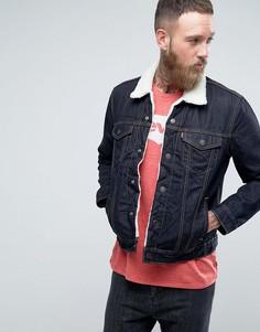 Куртка с искусственным мехом Levis Type 3 - Темно-синий Levis®