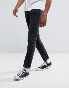 Серые эластичные джинсы скинни Abercrombie & Fitch - Серый