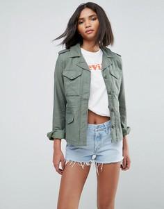 Легкая куртка с карманами Levis Surplus - Зеленый Levis®