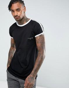 Черная футболка Illusive London - Черный