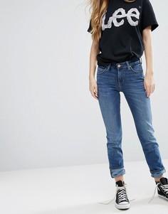 Узкие прямые джинсы с классической талией Lee Elly - Синий