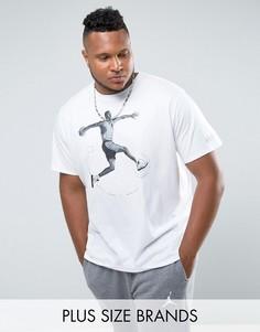 Белая футболка Nike Jordan PLUS AJ5 864923-100 - Белый