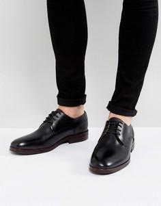 Черные кожаные дерби Hudson London - Черный