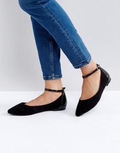 Туфли на плоской подошве Faith Ally - Черный