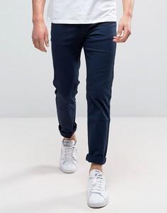 Саржевые брюки Ben Sherman Franklin - Синий