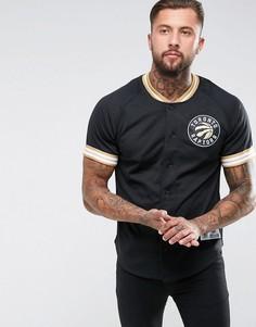 Сетчатая футболка Mitchell & Ness NBA Toronto Raptors - Черный