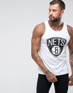 Майка Mitchell & Ness NBA Brooklyn Nets - Белый