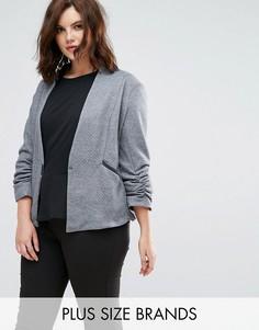 Серая стеганая куртка Elvi - Серый