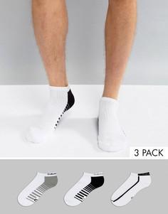 Набор из 3 пар спортивных носков Calvin Klein Performance - Белый