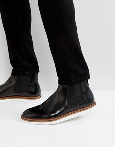 Черные кожаные ботинки челси House Of Hounds Avery - Черный
