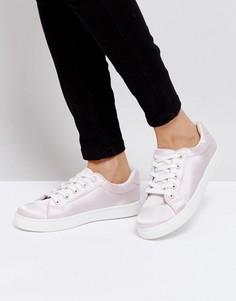 Атласные кроссовки Truffle Collection - Розовый
