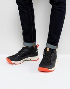 Походные кроссовки средней высоты Clarks - Черный