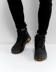 Походные ботинки с 5 парами люверсов Dr Martens Rakim - Черный
