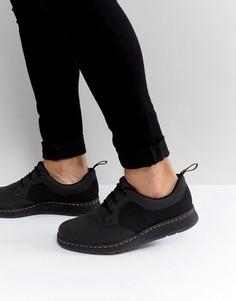 Ботинки с 3 парами люверсов Dr Martens Lite Cavendish - Черный