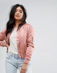 Бомбер Glamorous - Розовый