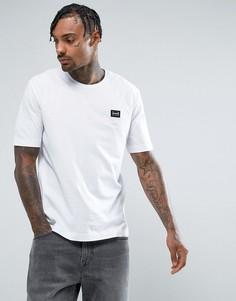 Белая футболка с нашивкой Love Moschino - Белый