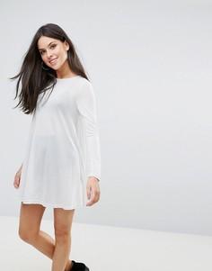 Свободное платье Glamorous - Серебряный