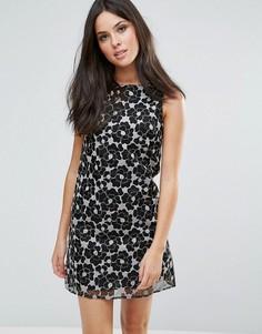 Цельнокройное платье Glamorous - Черный