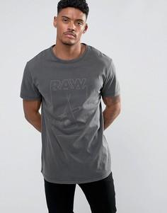 Свободная футболка G-Star Hiyat - Черный