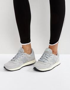 Трикотажные серые кроссовки Saucony - Серый