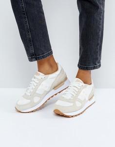 Кремовые кроссовки Saucony - Кремовый