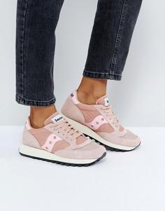 Розовые кроссовки Saucony - Розовый