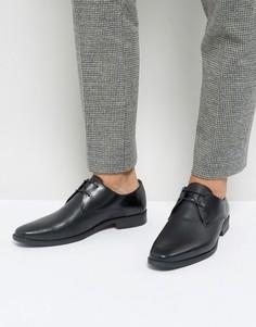 Черные фактурные туфли Silver Street - Черный