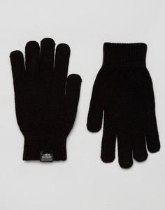 Перчатки для сенсорных экранов Cheap Monday - Черный