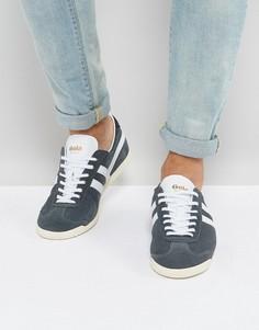 Замшевые кроссовки Gola Bullet - Серый