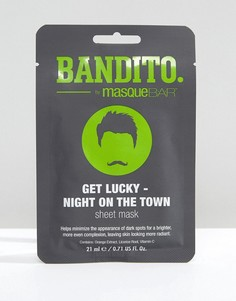 Маска-салфетка Bandito Bandito Get Lucky - Night on the Town - Бесцветный Masque Bar