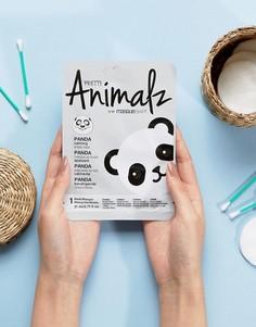 Успокаивающая маска-салфетка Pretty Animalz Panda - Бесцветный Masque Bar
