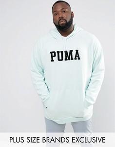 Худи синего цвета с большим логотипом Puma PLUS эксклюзивно для ASOS 57659002 - Синий