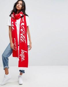 Шарф Hype X Coca Cola - Красный