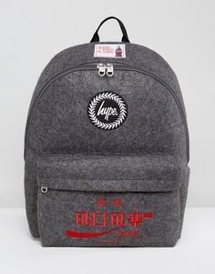Темно-серый рюкзак Hype X Coca Cola - Серый