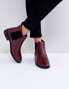 Кожаные ботинки челси Faith Binkie - Красный