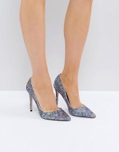 Туфли-лодочки с блестками Miss KG - Серебряный