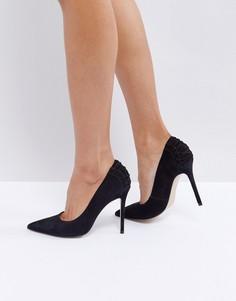 Туфли на каблуке со шнуровкой на заднике Steve Madden Paiton - Черный