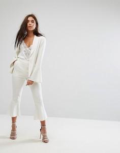 Строгие брюки Missguided - Белый