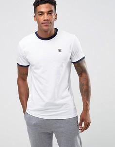 Белая футболка с логотипом Fila Vintage - Белый