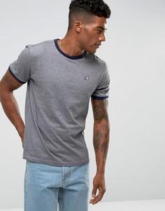 Серая футболка с маленьким логотипом Fila Vintage - Серый