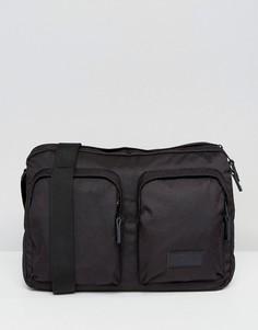 Черная сумка почтальона Eastpak Brett - Черный