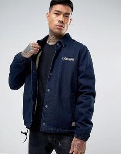 Спортивная джинсовая куртка с логотипом Element Murray - Темно-синий