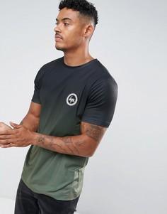 Черная футболка с эффектом выцветания Hype - Черный