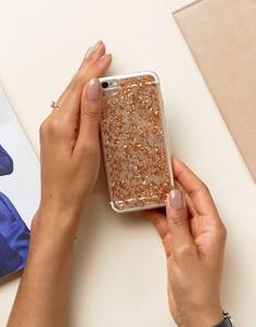 Чехол для Iphone6 с блестящей отделкой Signature - Золотой