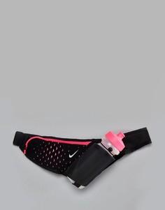 Большой ремень-держатель для бутылки 22Oz Nike - Черный