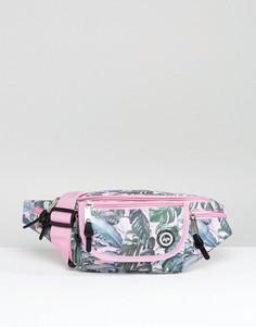 Эксклюзивная сумка-кошелек на пояс с пальмовым принтом Hype - Мульти