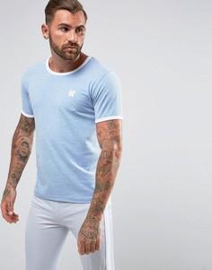 Голубая обтягивающая футболка Good For Nothing - Синий