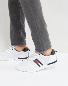 Белые кроссовки с логотипом Tommy Hilfiger Tobias - Белый