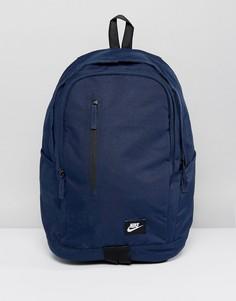 Темно-синий рюкзак Nike BA4857-451 - Темно-синий