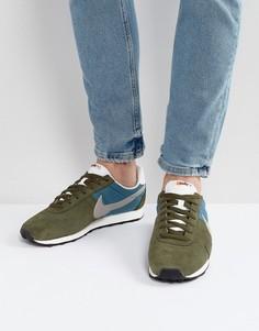 Зеленые кроссовки Nike Pre Montreal 17 898031-301 - Зеленый